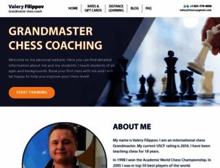 chess-grandmaster.com screenshot
