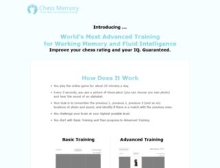 chess-memory.com screenshot
