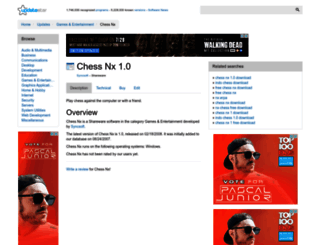 chess-nx.updatestar.com screenshot
