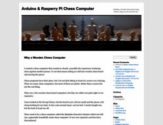 chess.fortherapy.co.uk screenshot