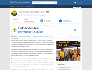 chessbase-reader.software.informer.com screenshot