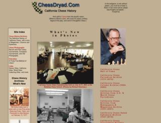 chessdryad.com screenshot