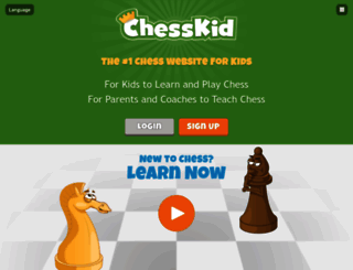 chesskid.com screenshot