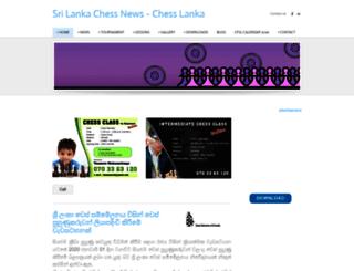 chesslanka.weebly.com screenshot