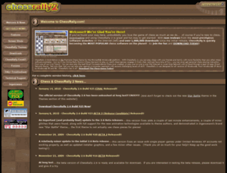 chessrally.com screenshot