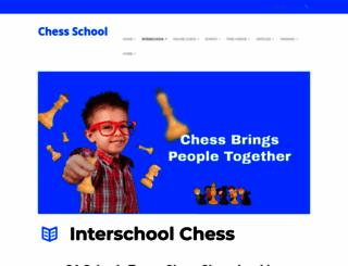 chessschool.com.au screenshot