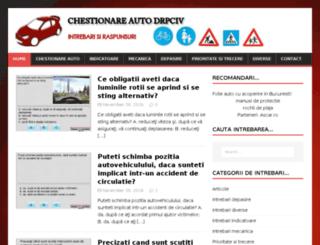 chestionare-auto-drpciv.ro screenshot