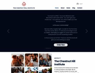 chestnuthillinstitute.com screenshot