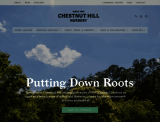 chestnuthilltreefarm.com screenshot