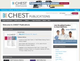chestpubs.org screenshot