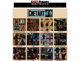 chetart.com screenshot