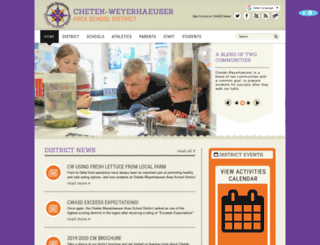 chetek.k12.wi.us screenshot