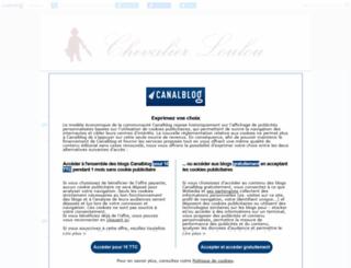 chevalierloulou1.canalblog.com screenshot