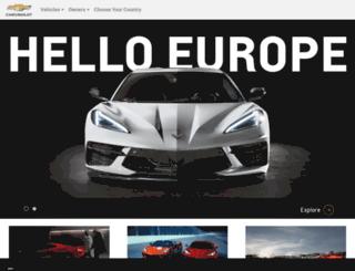 chevrolet.es screenshot