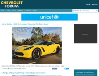 chevroletforum.com screenshot