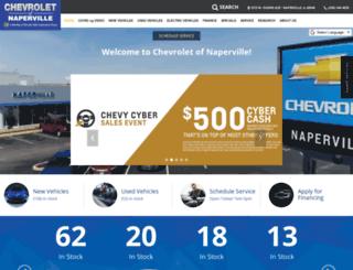 chevroletofnaperville.com screenshot