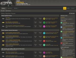 chevyequinoxforum.com screenshot
