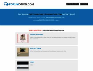 chevyhhrfamily.forumotion.com screenshot