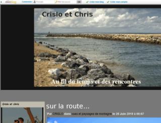 chez-crislo.eklablog.com screenshot