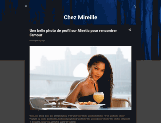 chez-mireilled.com screenshot