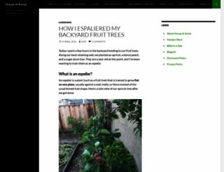 chezannies.blogspot.com screenshot
