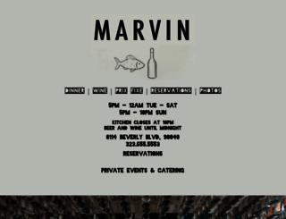 chezmarvin.com screenshot
