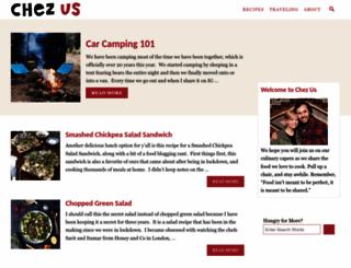 chezus.com screenshot