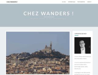 chezwanders.info screenshot