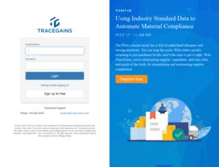 chgv7.tracegains.net screenshot