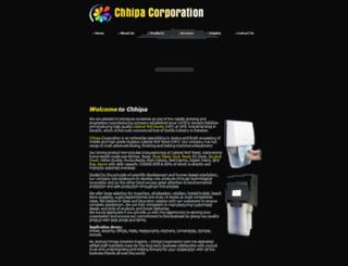 chhipacorp.com screenshot