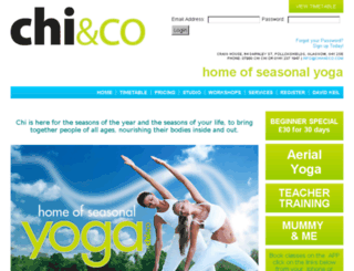 chiandco.liveeditaurora.com screenshot