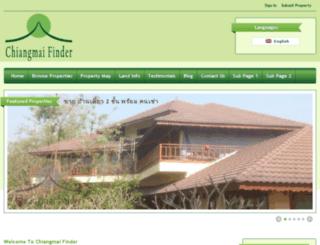 chiangmai-finder.com screenshot