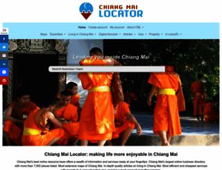 chiangmailocator.com screenshot