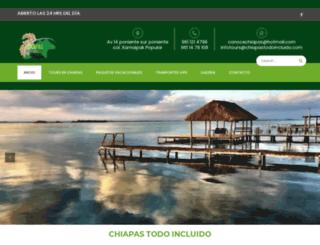 chiapastodoincluido.com screenshot