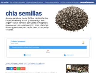chiasemillas.es screenshot