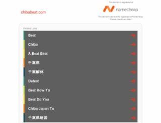 chibabeat.com screenshot