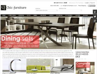 chic-furniture.co.uk screenshot