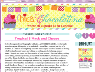 chicachocolatina.blogspot.com screenshot