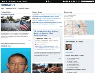chicago.fbi.gov screenshot