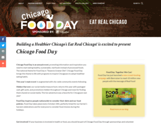 chicago.foodday.org screenshot