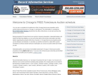 chicago.il-foreclosure.com screenshot