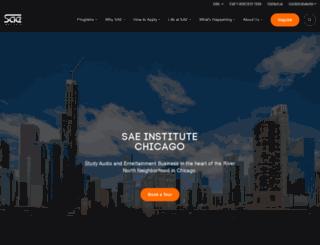 chicago.sae.edu screenshot