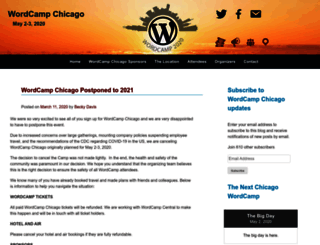 chicago.wordcamp.org screenshot