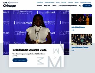 chicagoama.org screenshot