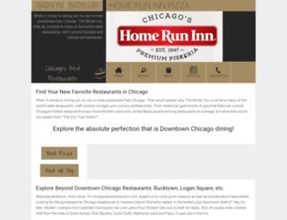 chicagobestpizzas.com screenshot