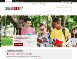 chicagobooth.bncollege.com screenshot