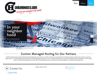 chicagohosts.com screenshot