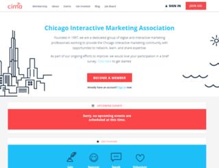 chicagoima.org screenshot