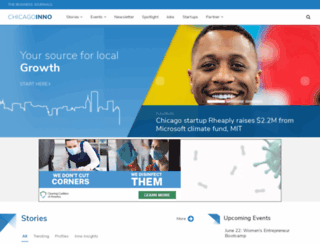 chicagoinno.streetwise.co screenshot