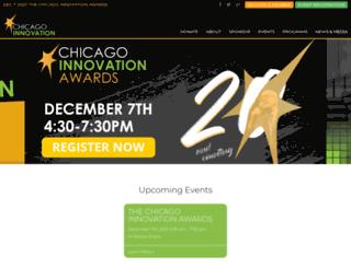 chicagoinnovationawards.com screenshot